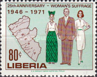[The 25th Anniversary of Women's Rights, type SS]