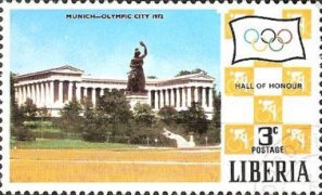 [Olympic Games - Munich '72, Germany, type ST]