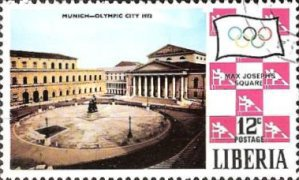 [Olympic Games - Munich '72, Germany, type SW]