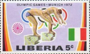 [Olympic Games - Munich, Germany, type UF]