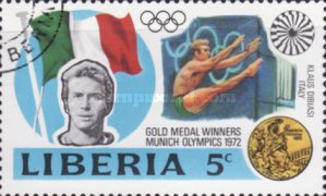 [Gold Medal Winners of Olympic Games - Munich, Germany, type VD]