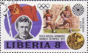 [Gold Medal Winners of Olympic Games - Munich, Germany, type VE]