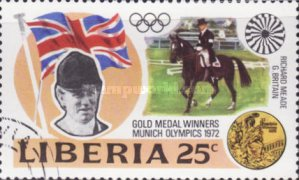 [Gold Medal Winners of Olympic Games - Munich, Germany, type VI]
