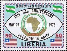 [The 10th Anniversary of Organization of African Unity, type VY5]