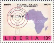 [The 20th Anniversary of ELWA Radio Station, type WU]