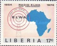 [The 20th Anniversary of ELWA Radio Station, type WW]