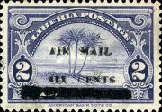 [Airmail - Officail Stamp & No. 315-316 Surcharged, type XGA1]