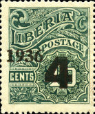[No. 214-218 & 220-225 Surcharged, type XGB2]