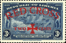 [Red Cross - No. 369-371 Surcharged, type XGZ]