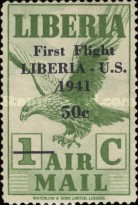 [Airmail - No. 359-368 Surcharged, type XHF]