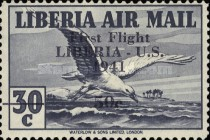 [Airmail - No. 359-368 Surcharged, type XHF7]