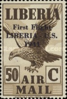 [Airmail - No. 359-368 Surcharged, type XHF8]