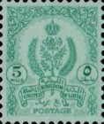 [State Coat of Arms - Coloured Paper, type U4]