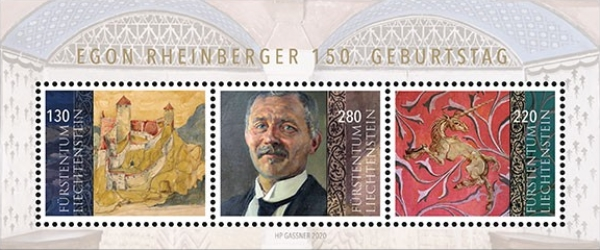 [The 150th Anniversary of the Birth of Egon Rheinberger, 1870-1936, type ]