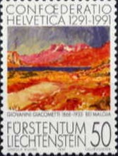 [The 700th Anniversary of Confoederatio Helvetica - Swiss Paintings, Typ AJI]