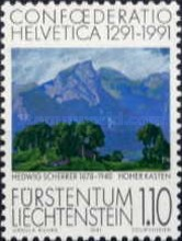 [The 700th Anniversary of Confoederatio Helvetica - Swiss Paintings, Typ AJL]