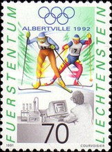 [Olympic Games - Albertville 1992, France, Typ AJW]
