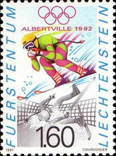 [Olympic Games - Albertville 1992, France, Typ AJY]