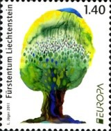 [EUROPA Stamps - The Forest, type BLX]