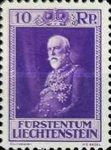 [The 80th Anniversary of the Birth of Prince Franz I, type BU]