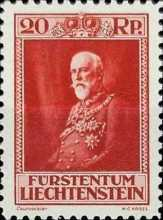 [The 80th Anniversary of the Birth of Prince Franz I, type BU1]
