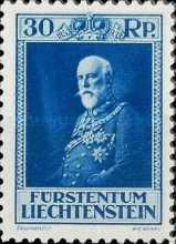 [The 80th Anniversary of the Birth of Prince Franz I, type BU2]
