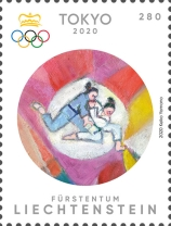 [Olympic Games - Tokyo, Jaspan, type CAX]