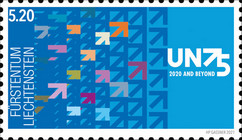 [The 75th Anniversary of the First General Assembly of the United Nations, type CBQ]