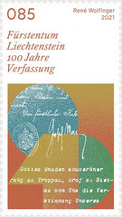 [The 100th Anniversary of the Constitution of the Principality of Liechtenstein, type CCK]