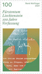 [The 100th Anniversary of the Constitution of the Principality of Liechtenstein, type CCL]