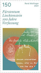 [The 100th Anniversary of the Constitution of the Principality of Liechtenstein, type CCM]