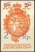 [National Arms, No.18 Surcharged - Thin Overprint, type H13]