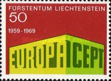 [EUROPA Stamp, type PV]