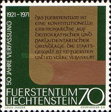 [The 50th Anniversary of the New Constitution, type RI]