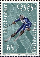 [Winter Olympic Games - Sapporo 1972, Japan, type RP]