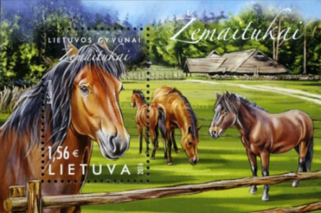 [Lithuanian Animals - The Žemaitukas Horse, type ]