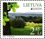 [EUROPA Stamps  - Forest, type AAK]