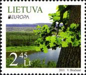 [EUROPA Stamps  - Forest, type AAL]