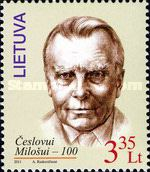 [The 100th Anniversary of the Birth of Cheslov Milosh, 1911-2004, type AAT]