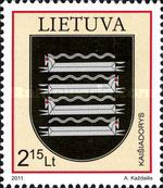 [Coat of Arms of Lithuanian Towns, type AAW]