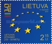 [The 10th Anniversary of Lithuania's Accession to the EU, type AEA]
