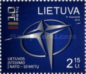[The 10th Anniversary of Lithuania's Accession to NATO, type AEB]