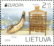 [EUROPA Stamps - Musical Instruments, type AFC]