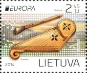 [EUROPA Stamps - Musical Instruments, type AFD]