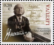 [The 100th Anniversary of the Birth of Julius Juzeliūnas, 1916-2001, type AHD]