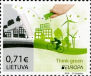 [EUROPA Stamps - Think Green, type AHI]