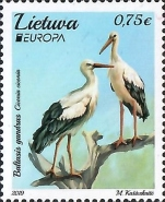 [EUROPA Stamps - National Birds, type AKW]