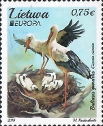 [EUROPA Stamps - National Birds, type AKX]