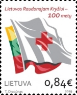 [The 100th Anniversary of the Lithuanian Red Cross Society, type AKZ]