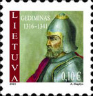 [Definitives - Grand Dukes of Lithuania, type AMH]